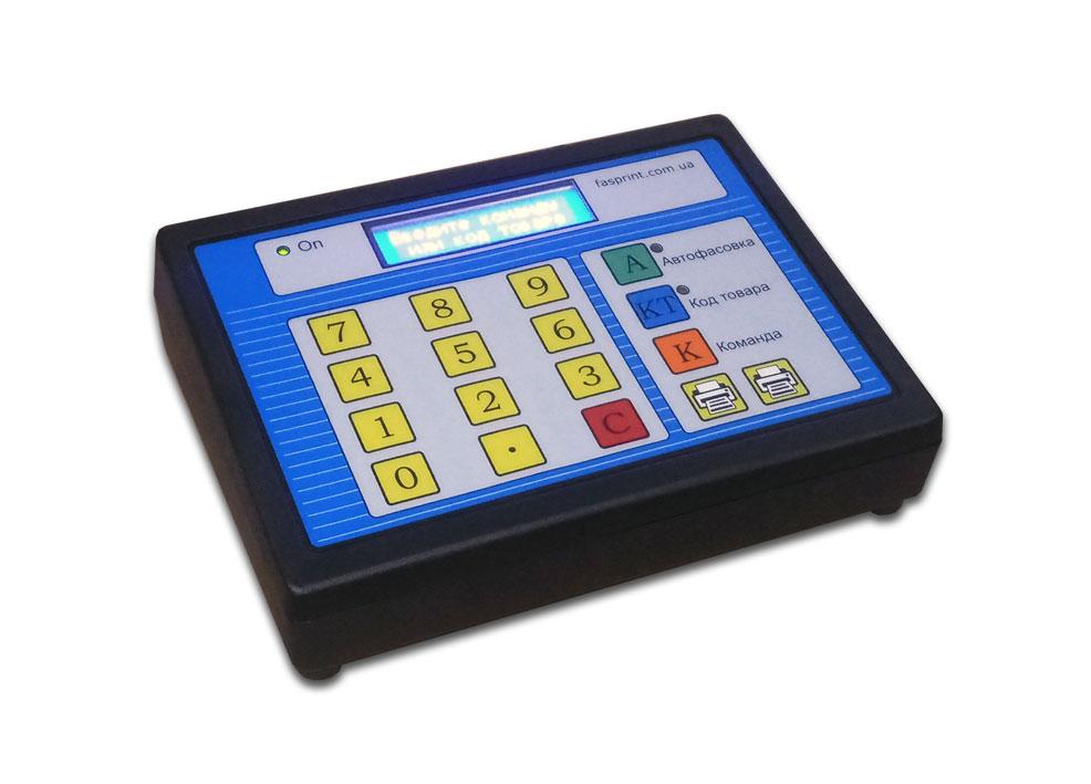 Cмарт-клавиатура Fasprint, вид спереди